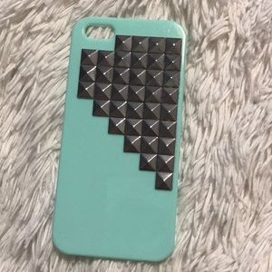 Studded real iPhone 5 case